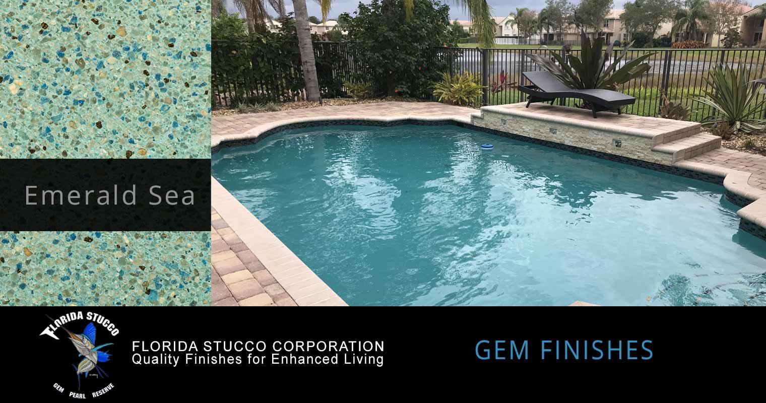 Gem Finishes Pool Finishes Florida Stucco